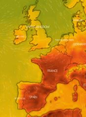 French heatwave