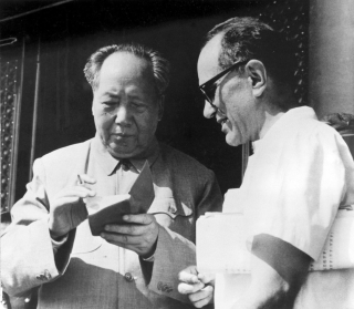 Rittenber with Mao