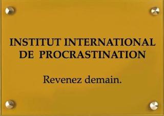 Procrastination 13