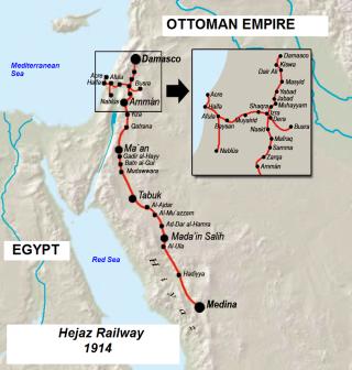Haifa Hejaz map