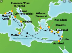 Map - Haifa Mediteranean