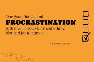 Procrastination 22
