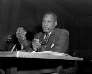 Robeson testifying