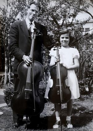Walevska and father