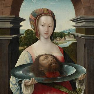 Salome - John's head