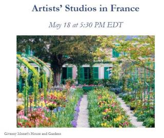 Artists' Studios in France