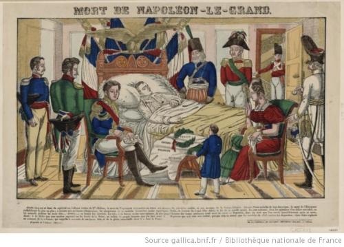 Mort de Napoleon