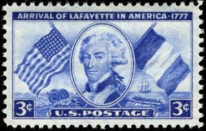 Lafayette_stamp_3c_1952_issue